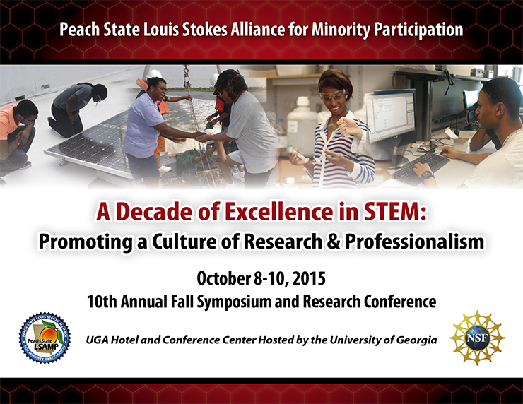 A Decade of Excellence in STEM: 10th Annual Fall Symposium and Research Conference